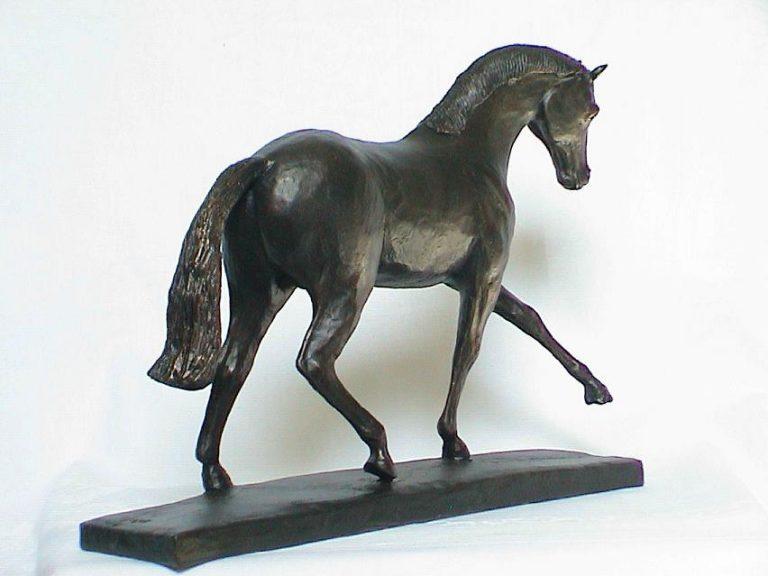 Het paard in appuyement